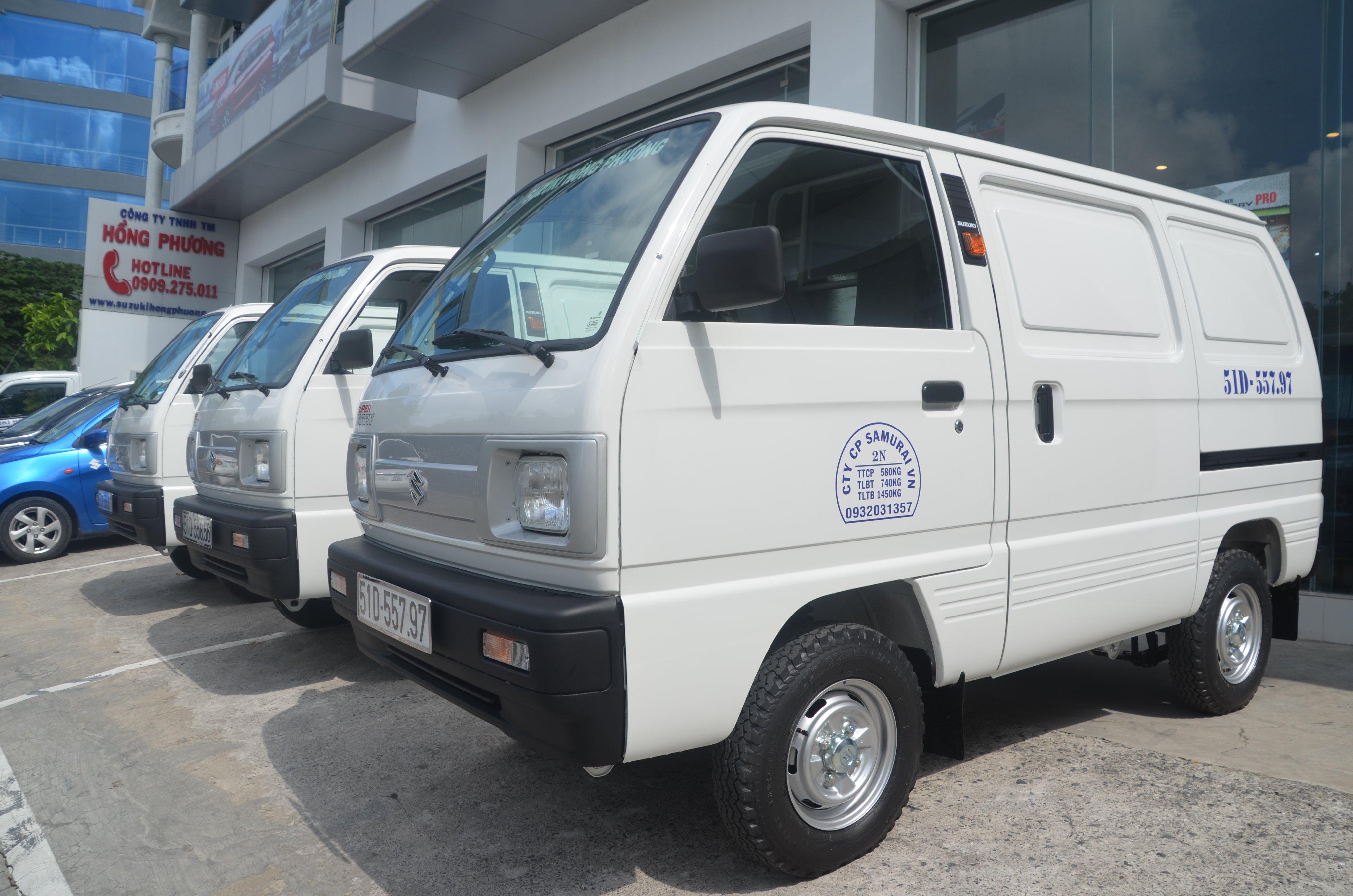 xe Blind Van Suzuki