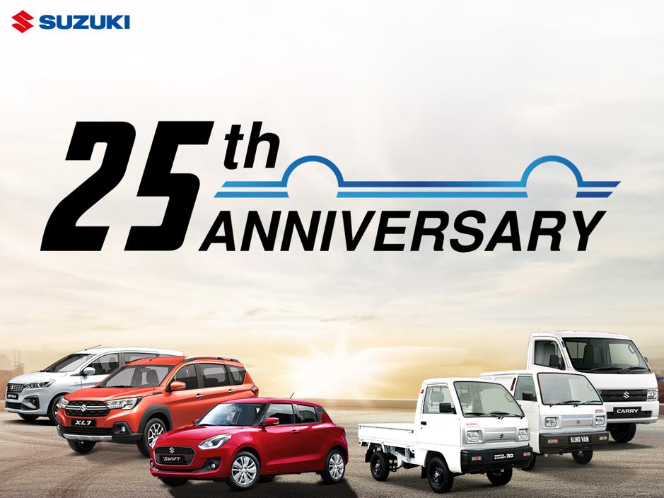 Kỷ niệm 25 năm thành lập Suzuki tại thị trường Việt Nam