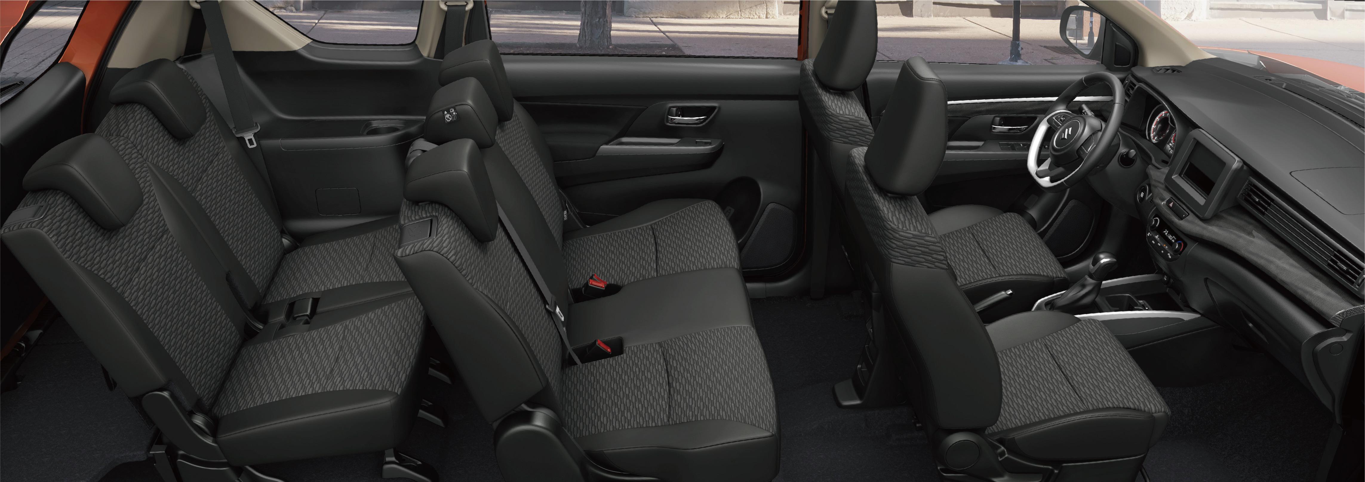 Ghế ngồi sang trọng của xe ô tô 7 chỗ Suzuki XL7