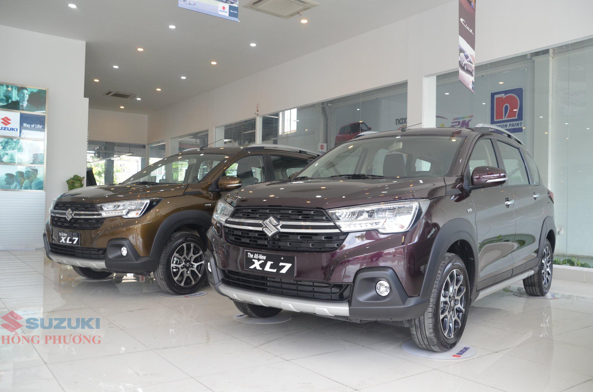 Doanh số Suzuki XL7 tăng trưởng đáng kể trong tháng 08/2020.