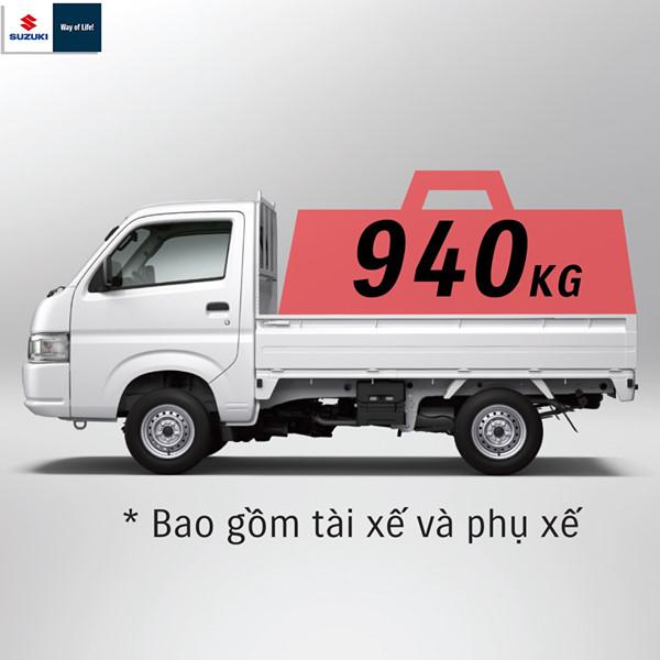 Xe Carry Pro có tải trọng lên đến 940kg