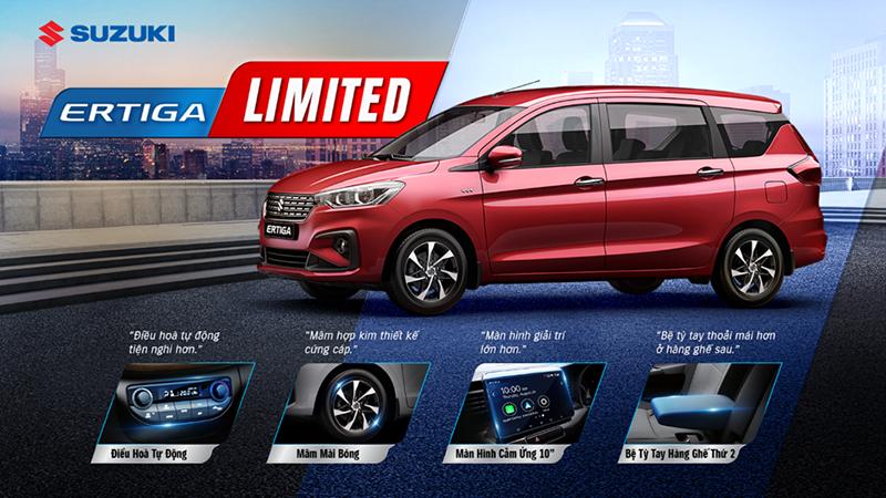 Suzuki giới thiệu phiên bản Ertiga Limited - Lắng nghe nhu cầu khách hàng