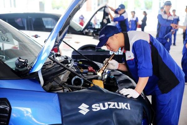 Bảo dưỡng xe Suzuki ở đâu tại TPHCM?
