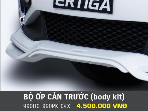 Bộ ốp cản trước (body kit) Suzuki Ertiga