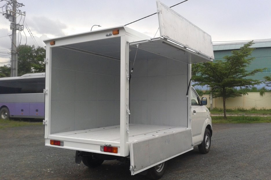 Thiết kế cửa thùng xe có thể mở bên hông tiện lợi
