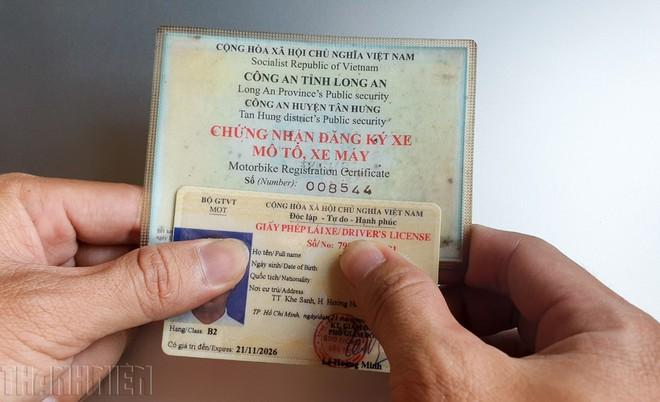 giấy đăng ký ô tô