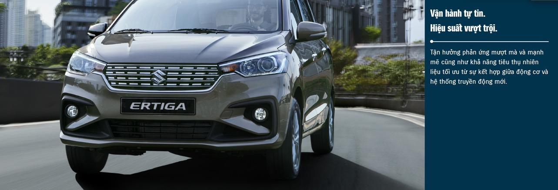Xe 7 chỗ Suzuki Ertiga được trang bị nhiều tính năng giúp đảm bảo an toàn tuyệt đối cho cả người lái và hành khách trên xe