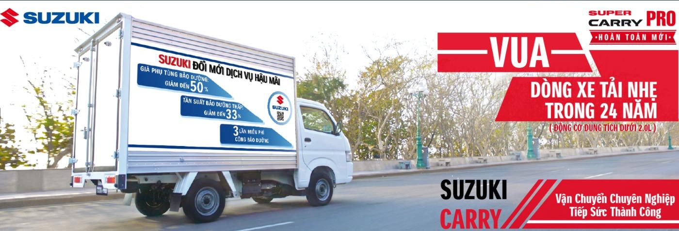 Suzuki Super Carry Pro đã được bán rộng rãi ở nhiều quốc gia