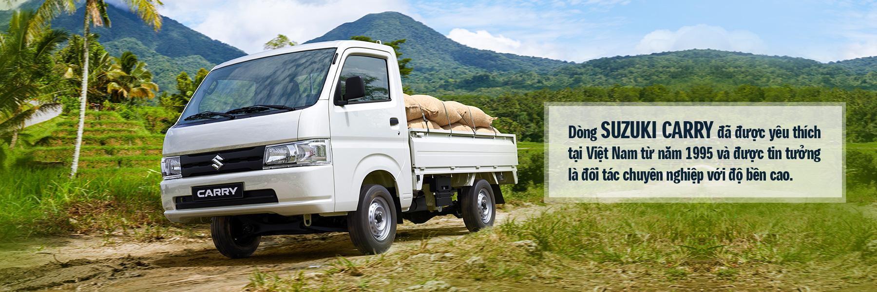 Giá xe Suzuki Carry Pro tại Suzuki Hồng Phương có nhiều ưu đãi đặc biệt